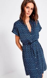 Sukienka Surkana mini w stylu casual z krótkim rękawem