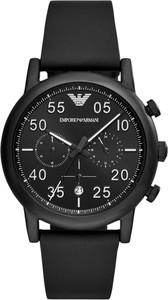 Zegarek EMPORIO ARMANI - Luigi AR11133 Black/Black