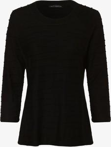 Czarny t-shirt Betty Barclay z długim rękawem z okrągłym dekoltem