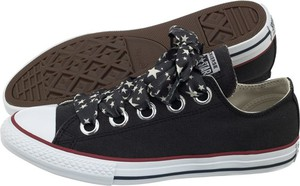 Czarne trampki Converse w młodzieżowym stylu sznurowane