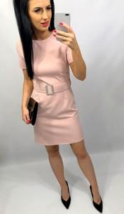 Sukienka livien.eu z tkaniny asymetryczna