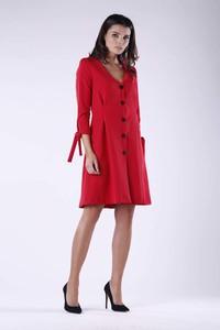 Sukienka Nommo mini z dekoltem w kształcie litery v w stylu casual