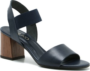 67e89f39 srebrne sandały ryłko - stylowo i modnie z Allani