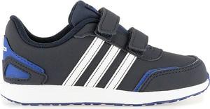 Buty sportowe dziecięce Adidas na rzepy z nubuku
