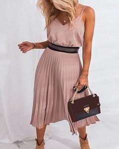 Różowa sukienka Kendallme na ramiączkach