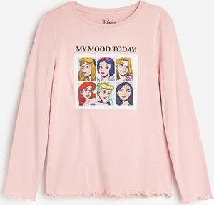 Koszulka dziecięca Reserved z bawełny