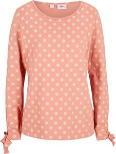 Różowy t-shirt bonprix