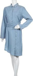 Sukienka Gant z długim rękawem koszulowa w stylu casual