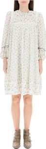 Sukienka SEE BY CHLOE z bawełny w stylu casual z okrągłym dekoltem