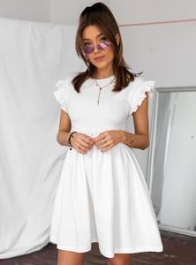 Sukienka SELFIEROOM z krótkim rękawem z bawełny