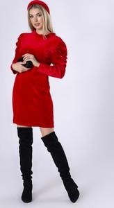 Sukienka Manumo mini z długim rękawem