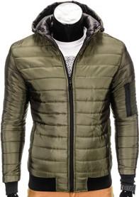 Ombre clothing kurtka c288 - khaki