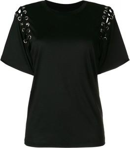Czarna bluzka Isabel Marant w młodzieżowym stylu