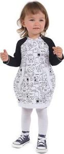 Sukienka dziewczęca Gapula z bawełny
