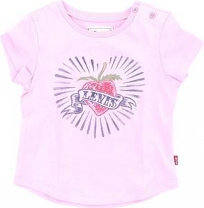 Różowa bluzka dziecięca Levis