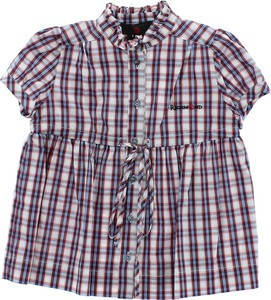 Fioletowa koszula dziecięca John Richmond