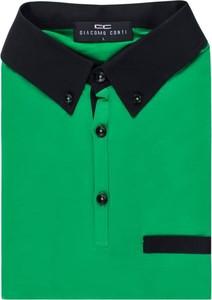 Zielona koszulka polo giacomo conti