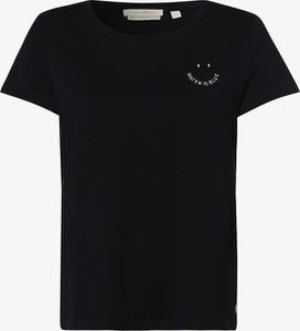 Czarna bluzka Tom Tailor Denim z bawełny