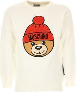 Sweter Moschino z bawełny