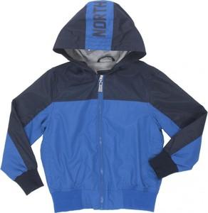 Niebieska kurtka dziecięca North Pole dla chłopców