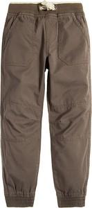 Brązowe spodnie dziecięce Cool Club dla chłopców