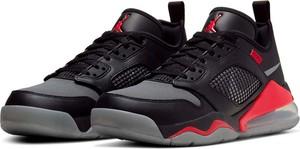 Czarne buty sportowe Jordan sznurowane w sportowym stylu air max 270