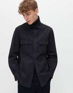 Czarna koszula Reserved w stylu casual