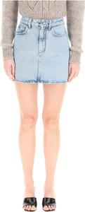 Niebieska spódnica Alessandra Rich mini