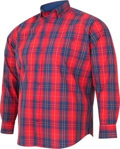 Koszula Bigsize z długim rękawem w stylu casual