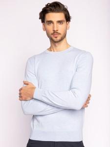 Niebieski sweter Hugo Boss