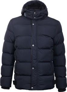 Granatowa kurtka Glo-Story z plaru w młodzieżowym stylu