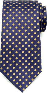 Granatowy krawat Willsoor