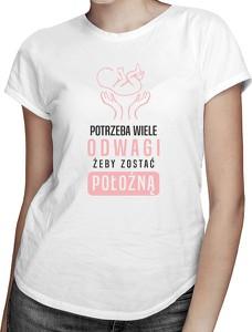 T-shirt Koszulkowy z okrągłym dekoltem z krótkim rękawem