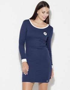 Niebieska sukienka LENITIF mini