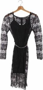 Czarna sukienka Body Frock z długim rękawem