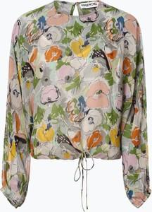 Bluzka Essentiel Antwerp z długim rękawem w stylu boho z okrągłym dekoltem