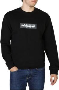 Czarna bluza Napapijri w młodzieżowym stylu