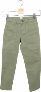 Zielone spodnie dziecięce KARL MARC JOHN