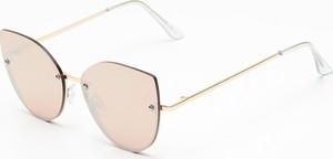 Różowe okulary damskie House