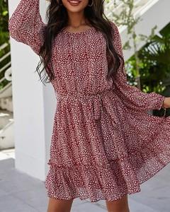 Sukienka Kendallme w stylu casual z długim rękawem