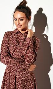 Sukienka FLORENCE szmizjerka w stylu casual