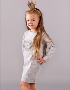 Sukienka dziewczęca CudiKiDS z bawełny