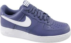 Niebieskie buty sportowe Nike ze skóry