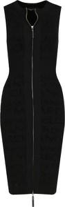 Czarna sukienka Guess by Marciano bez rękawów