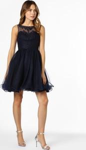 Granatowa sukienka Laona mini