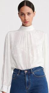 Bluzka Reserved z żakardu w stylu casual