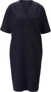Niebieska sukienka Heine z krótkim rękawem
