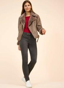 Brązowa kurtka ORSAY w stylu casual krótka