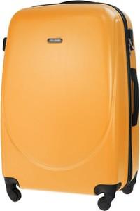 Pomarańczowa walizka Solier