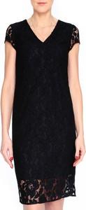 Sukienka Molton mini z krótkim rękawem prosta